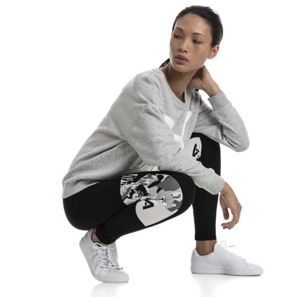 PUMA XTG ウィメンズ レギンス, Cotton Black-Puma White, large-JPN