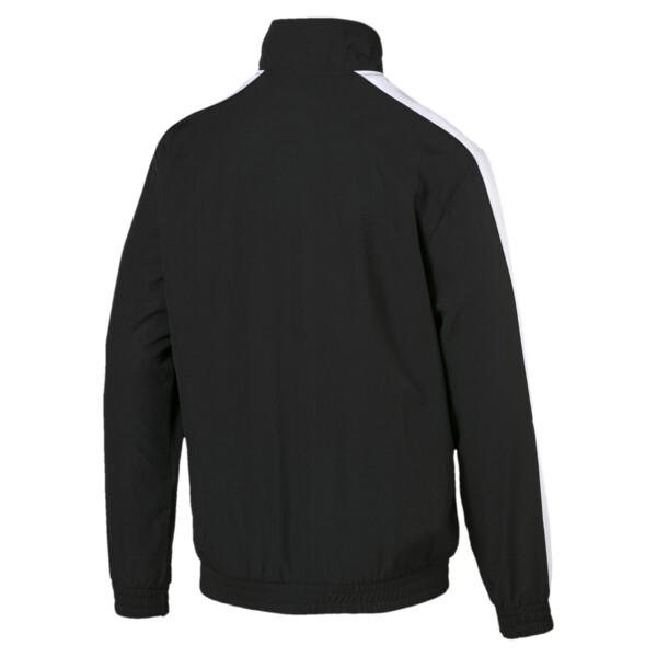 ICONIC T7 ウーブン トラックジャケット, Puma Black, large-JPN