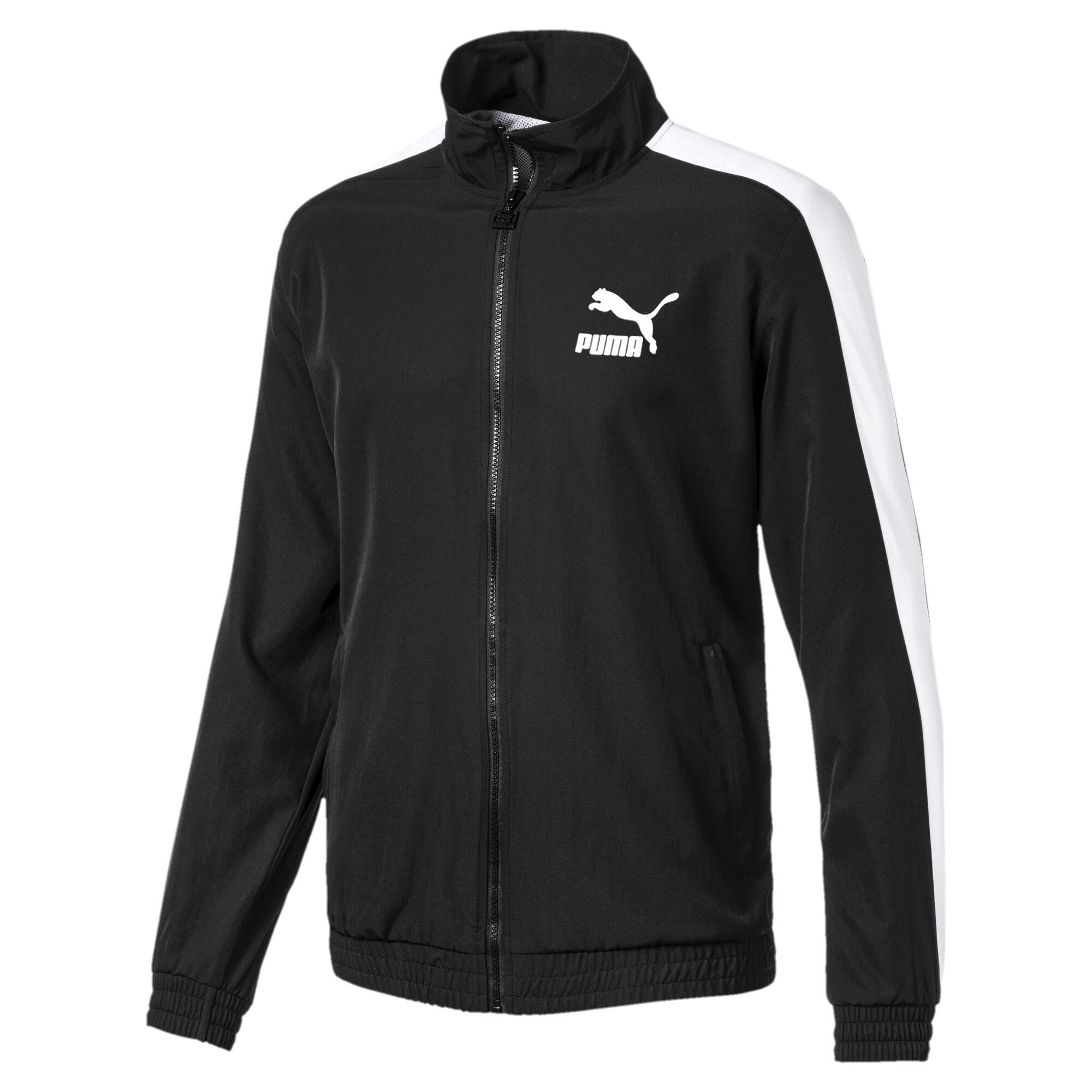 30%OFF!プーマ ICONIC T7 ウーブン トラックジャケット メンズ Puma Black
