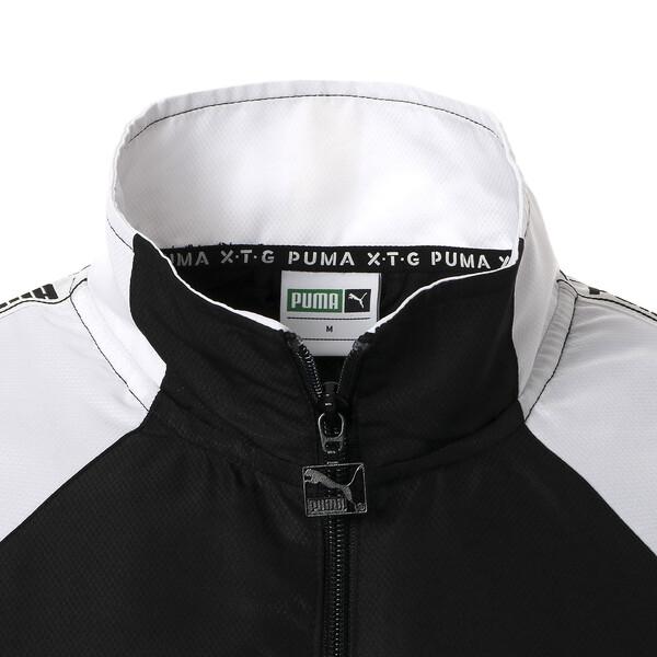 PUMA XTG ウーブンジャケット, Puma Black-Puma white, large-JPN