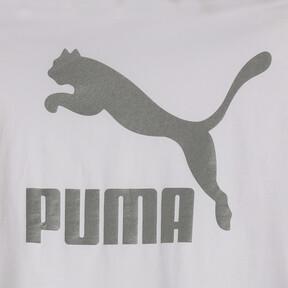 Thumbnail 6 of CLASSICS ロゴ ウィメンズ SS Tシャツ (半袖), Puma White-metal, medium-JPN