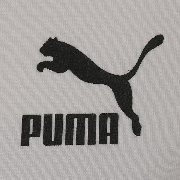 CLASSICS タイト ウィメンズ SS Tシャツ (半袖), Puma White-black, large-JPN