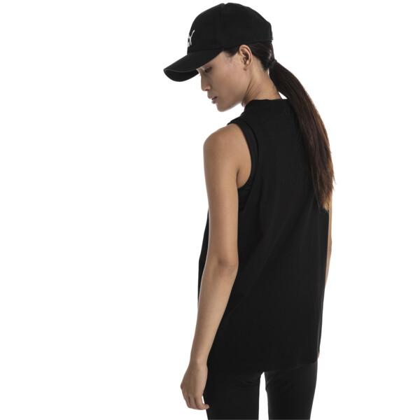 CLASSICS ウィメンズ ロゴ タンクトップ, Cotton Black, large-JPN