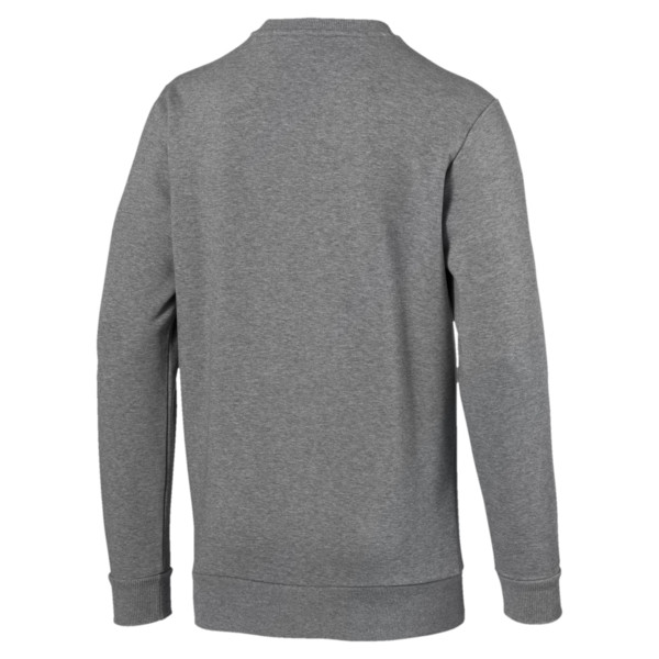 CLASSICS ロゴ クルースウェット, Medium Gray Heather, large-JPN