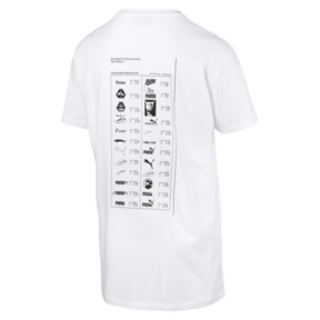 Thumbnail 4 of GRAPHIC MULTIPLE LOGO SS Tシャツ (半袖), Puma White, medium-JPN