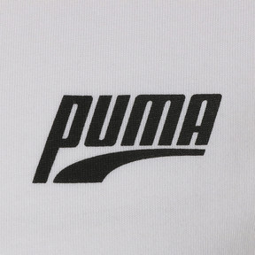 Thumbnail 6 of GRAPHIC MULTIPLE LOGO SS Tシャツ (半袖), Puma White, medium-JPN
