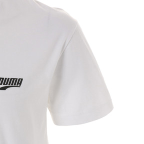 Thumbnail 7 of GRAPHIC MULTIPLE LOGO SS Tシャツ (半袖), Puma White, medium-JPN