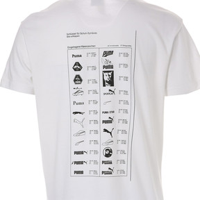 Thumbnail 9 of GRAPHIC MULTIPLE LOGO SS Tシャツ (半袖), Puma White, medium-JPN