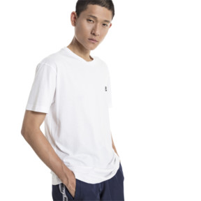 Thumbnail 2 of GRAPHIC MULTIPLE LOGO SS Tシャツ (半袖), Puma White, medium-JPN
