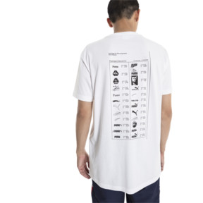 Thumbnail 3 of GRAPHIC MULTIPLE LOGO SS Tシャツ (半袖), Puma White, medium-JPN