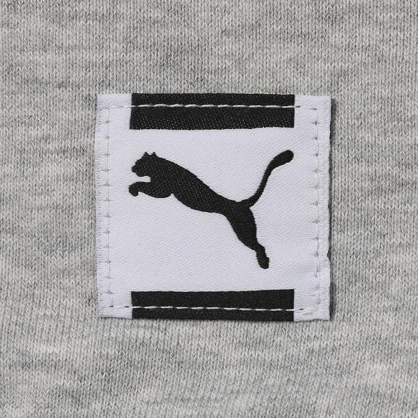 FIERCE CAT フーディスウェット, Light Gray Heather, large-JPN