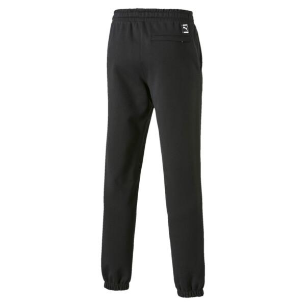 FIERCE CAT スウェットパンツ, Cotton Black, large-JPN