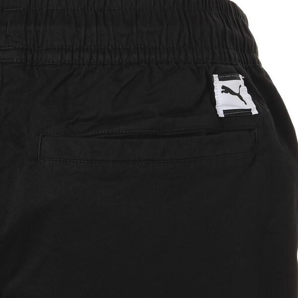 DOWNTOWN ショーツ, Cotton Black, large-JPN