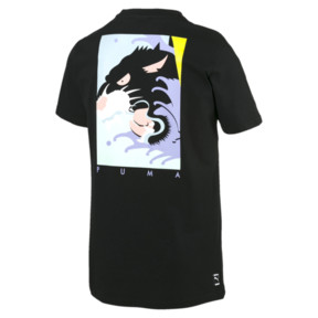Thumbnail 2 of FIERCE CAT SS Tシャツ (半袖), Cotton Black, medium-JPN