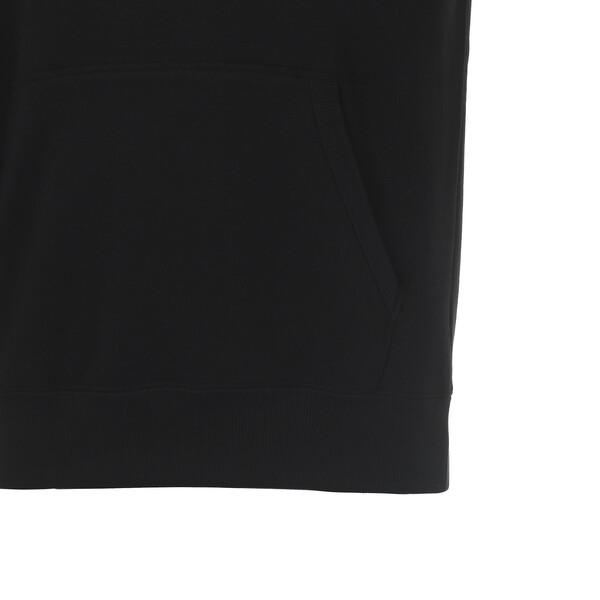 DOWNTOWN フーディスウェット, Cotton Black, large-JPN