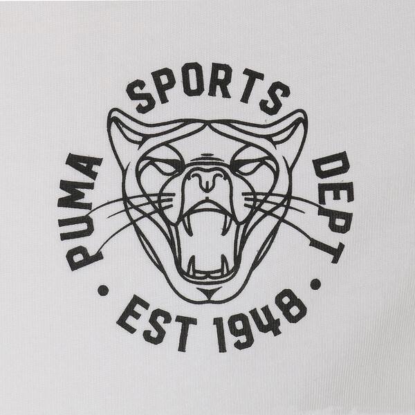 GRAPHIC VINTAGE CAT SS Tシャツ (半袖), Puma White, large-JPN