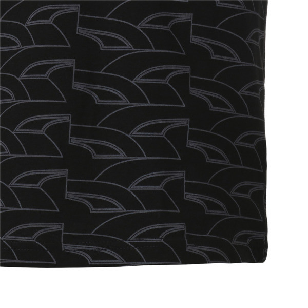 GRAPHIC RETRO SPORTS AOP SS Tシャツ (半袖), Cotton Black, large-JPN