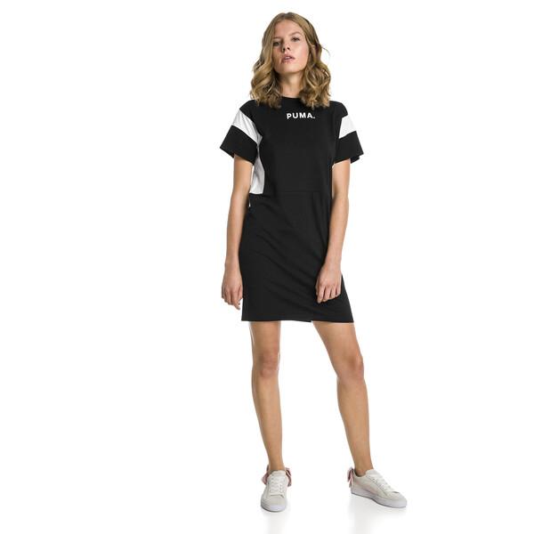 CHASE ウィメンズ ドレス, Cotton Black, large-JPN