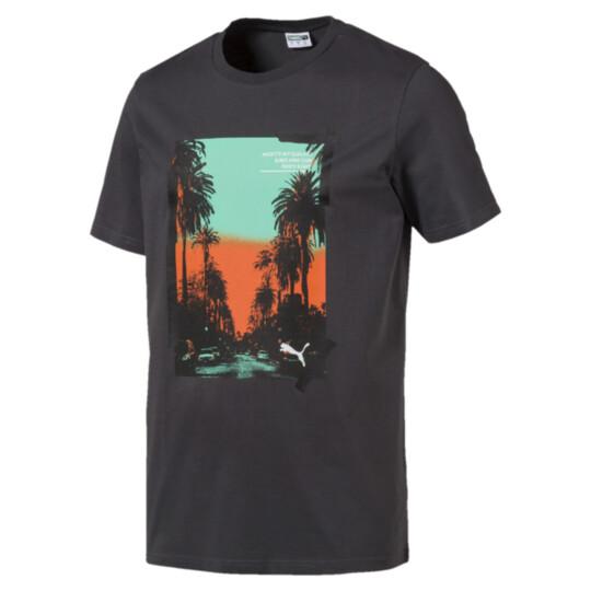 GRAPHIC PALMS PHOTO SS Tシャツ