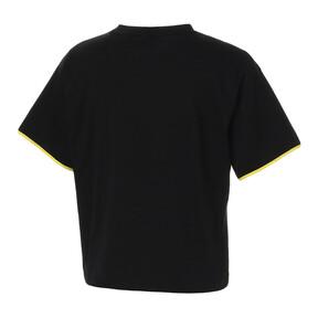Thumbnail 4 of CHASE ウィメンズ SS Tシャツ, Cotton Black, medium-JPN