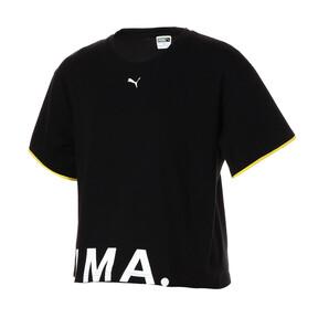 Thumbnail 1 of CHASE ウィメンズ SS Tシャツ, Cotton Black, medium-JPN