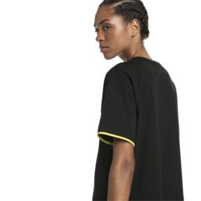 Thumbnail 3 of CHASE ウィメンズ SS Tシャツ, Cotton Black, medium-JPN