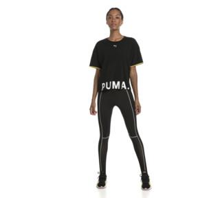 Thumbnail 5 of CHASE ウィメンズ SS Tシャツ, Cotton Black, medium-JPN