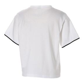 Thumbnail 4 of CHASE ウィメンズ SS Tシャツ 半袖, Puma White, medium-JPN