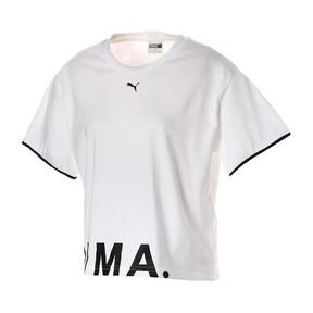 Thumbnail 1 of CHASE ウィメンズ SS Tシャツ 半袖, Puma White, medium-JPN