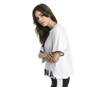 Thumbnail 2 of CHASE ウィメンズ SS Tシャツ 半袖, Puma White, medium-JPN