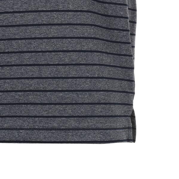 ゴルフ ローテーション ストライプ ポロシャツ (半袖), Peacoat, large-JPN