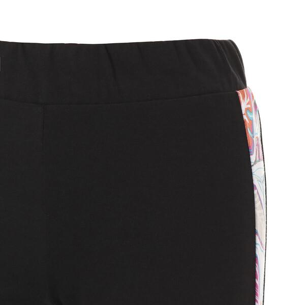 CLASSICS AOP ウィメンズ レギンス, Cotton Black, large-JPN