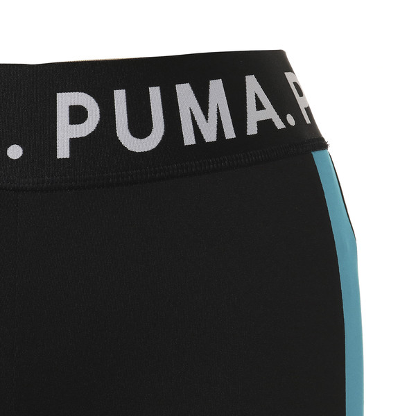 CHASE ウィメンズ レギンス, Puma Black-Caribbean Sea, large-JPN