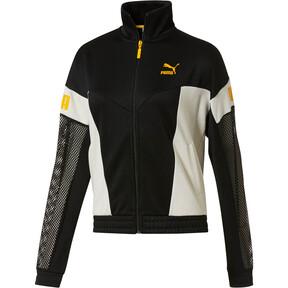 Thumbnail 1 of Flourish XTG Women's Jacket, Puma Black-Whisper White, medium