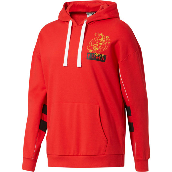 Last Dayz Men's Hoodie, High Risk Red, large