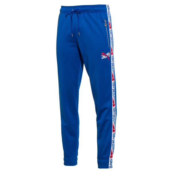 Pepsi X Puma Tape Track Pant, Clean Blue, large