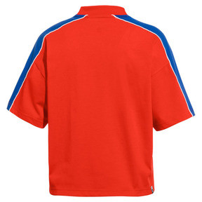 Thumbnail 4 of Pepsi X Puma Solid Crop Tee, Bright Red, medium