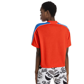Thumbnail 3 of Pepsi X Puma Solid Crop Tee, Bright Red, medium