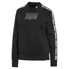 Thumbnail 1 of Pepsi X Puma Tape Crew FL, Cotton Black, medium