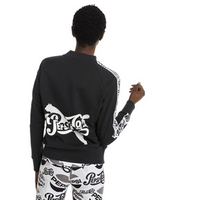 Thumbnail 3 of Pepsi X Puma Tape Crew FL, Cotton Black, medium