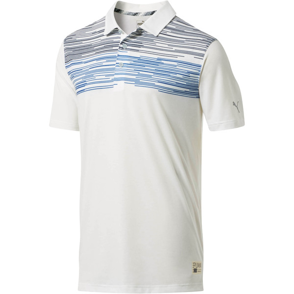 Pin High Men's Polo, Surf The Web, large