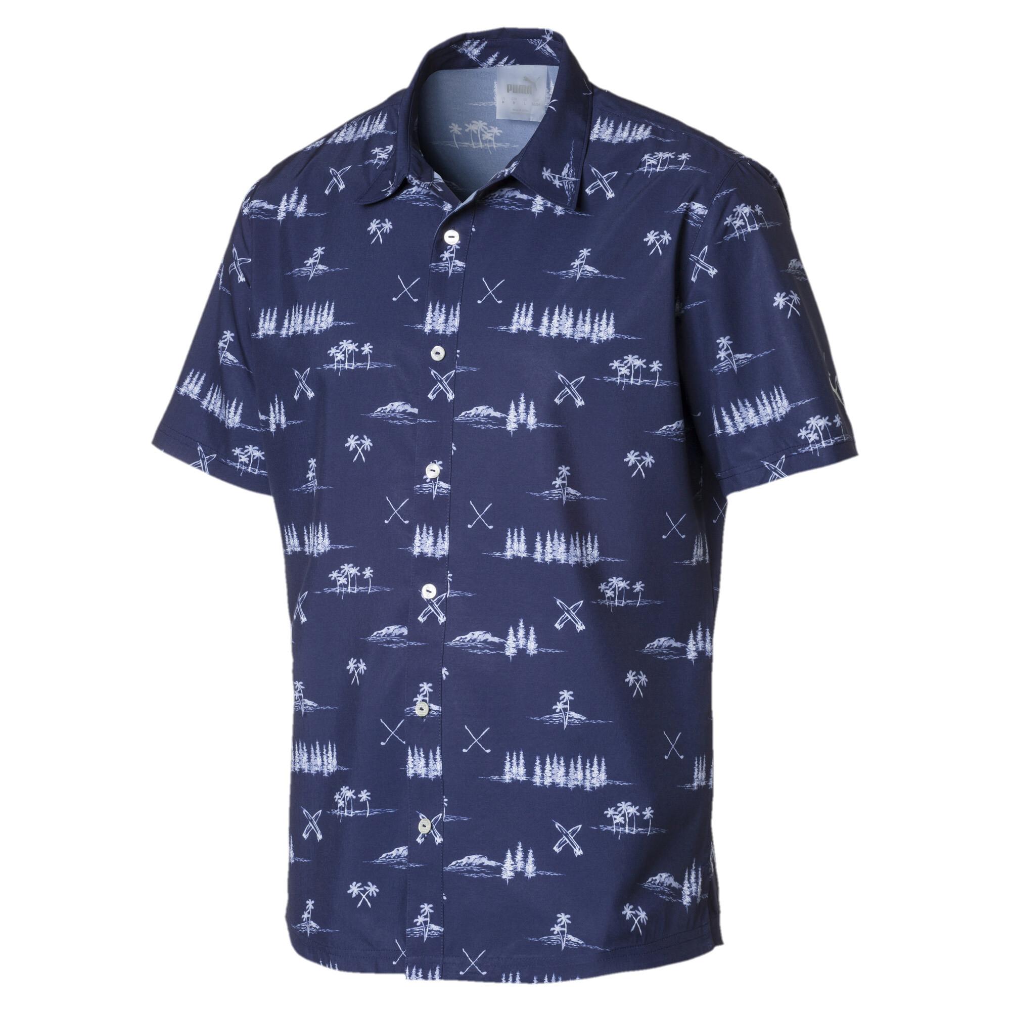 【プーマ公式通販】 プーマ ゴルフ パラダイス シャツ メンズ Peacoat |PUMA.com