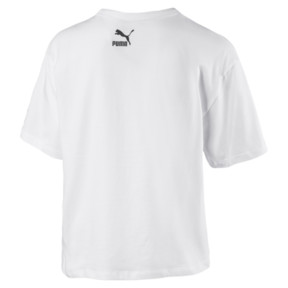 Thumbnail 2 of 90s Retro Women's Tee, Puma White, medium