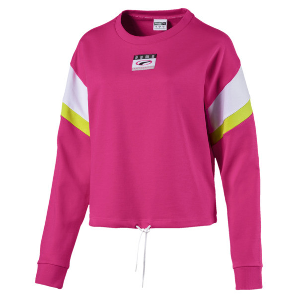 Archive '90s Retro sweater voor dames, Fuchsia Purple, large