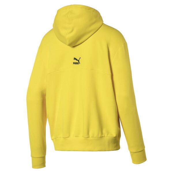 Men's Hoodie, Blazing Yellow, large