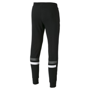 Thumbnail 2 of Cuffed Men's Sweatpants, Cotton Black, medium