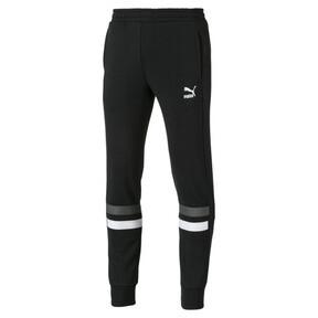 Thumbnail 1 of Cuffed Men's Sweatpants, Cotton Black, medium
