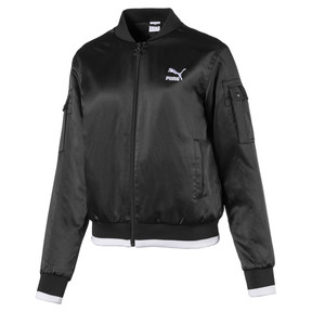 Satin Women's Bomber Jacket