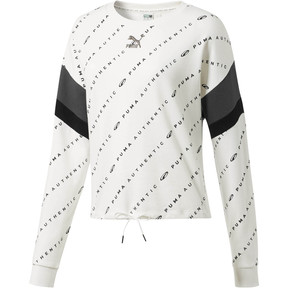 90s Retro AOP Women's Crewneck Sweatshirt
