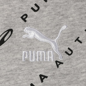Thumbnail 3 of 90S RETRO ウィメンズ AOP ウィメンズ クルースウェット, Light Gray Heather, medium-JPN